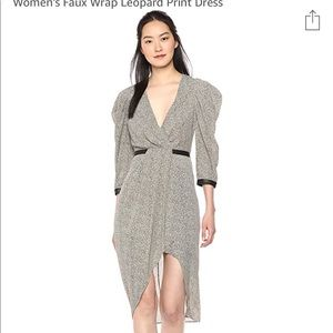 NWT BCBG CAMO LEOPARD DRESS